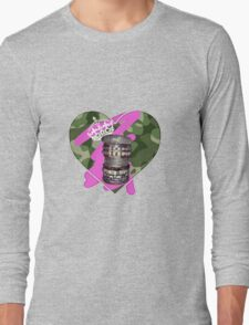 THE ART OF STACKING BANGLES (urban jungle/soldier edition) Long Sleeve T-Shirt