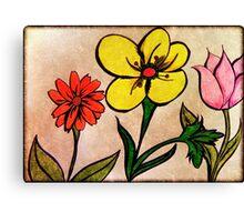 Flowers © Canvas Print