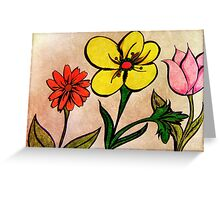 Flowers © Greeting Card