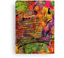 Colorful Journal-FINAL Canvas Print