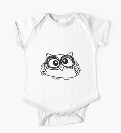 Owl number 13 One Piece - Short Sleeve