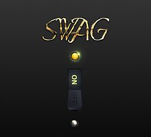 Classy SWAG ON Switch iPhone Case by cdoty