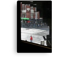 City Intersection Canvas Print