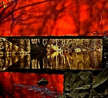 The Ashland covered bridge by cclaude
