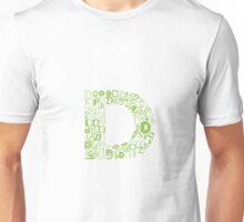 Font Fashion D Unisex T-Shirt