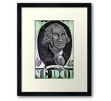 Poor George Framed Print