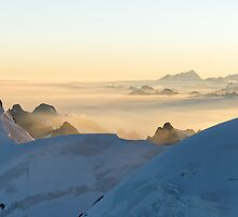 Massif du Mont Blanc II by Tom Fahy