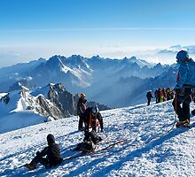 Massif du Mont Blanc V by Tom Fahy