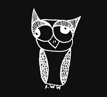Owl number 6 - white Unisex T-Shirt