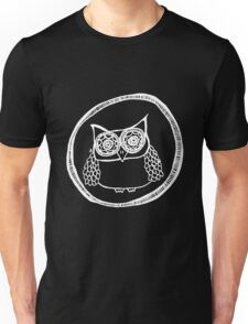 Owl number 11 - white Unisex T-Shirt