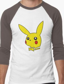 pokemon bunny Men's Baseball ¾ T-Shirt