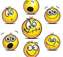 Feeling emotional? emojis say it all! by crashtackle
