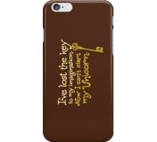 I've Lost the Key to My Imagination iPhone Case/Skin