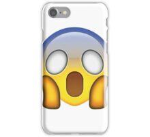 Shocked face emoji iPhone Case/Skin