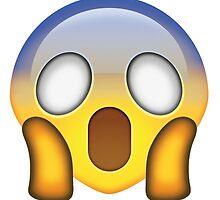 Shocked face emoji by jeme