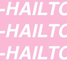 1-800-HAILTOPITT Sticker