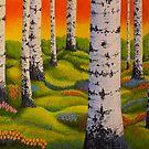 Spring Forest by Veikko  Suikkanen