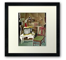 T.V. Time Framed Print