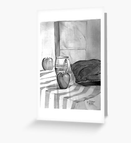 Still Life with Bag Greeting Card