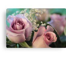 Moon Fleur ~ Luna Rose Canvas Print