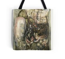 Tribute to Herman Melville Tote Bag