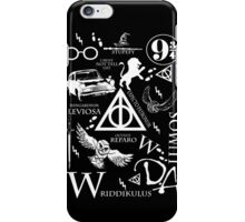 Harry Potter Madness  (white version) iPhone Case/Skin