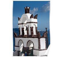 Bells Of Santorini Poster