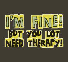 I'M FINE! by ezcreative