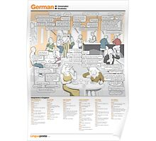 Learn German - Gespräch (Conversation) Poster