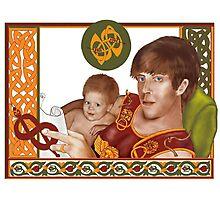 Zeus & Heracles Bedtime Story Photographic Print