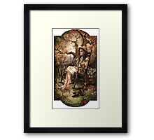 We Have All The Time In The World Framed Print