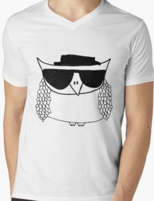 Heisenberg, the owl Mens V-Neck T-Shirt