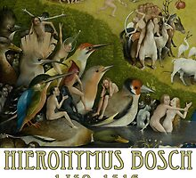 Hieronymus Bosch - Garden of Earthly Delights - Detail #1 by Chunga