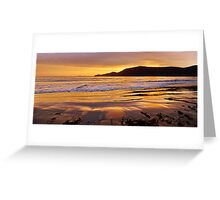 Glistening sand - Adventure Bay, Bruny Island, Tasmania Greeting Card