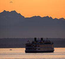 September Summer Sunset by Jim Stiles
