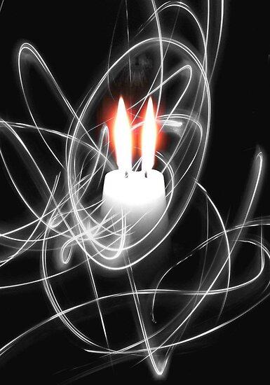 Flames © by Dawn M. Becker