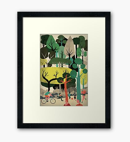 We are Trees Framed Print