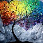 Colorful Tree by codyvandezande