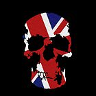 Union Jack Skull by star-e-eyed