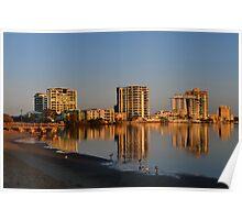 Maroochy River Sunrise. Maroochydore, Queensland, Australia Poster
