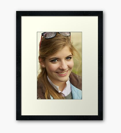 Julia. Framed Print