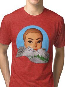 head of rushmore Tri-blend T-Shirt