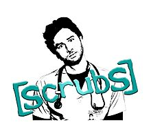 Scrubs JD Photographic Print