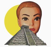 head of El Castillo Baby Tee