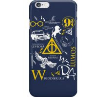 Harry Potter Madness (White/YellowVersion) iPhone Case/Skin