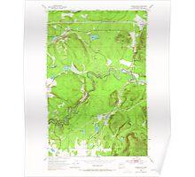 USGS Topo Map Washington State WA Cumberland 240744 1953 24000 Poster