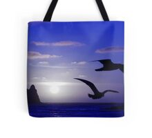 the double bird blues Tote Bag