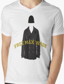 Free Max Wade Mens V-Neck T-Shirt