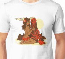 Volcano Goddess Unisex T-Shirt