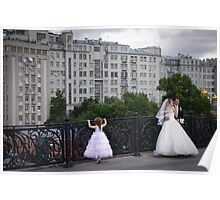 Russia, Moscow, 2012 - Bridal Party Poster